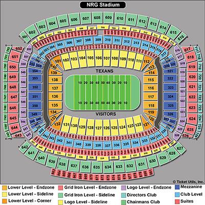 NRG Stadium Seating Chart